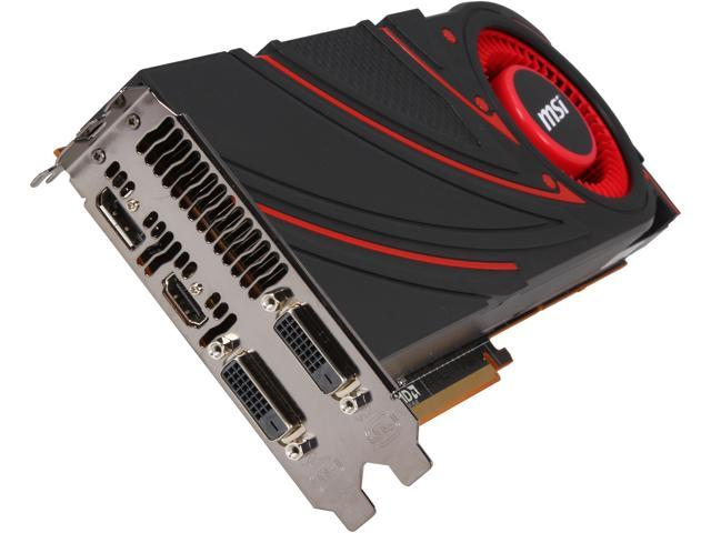 MSI Radeon R9 290X R9 290X 4GD5 Video Card