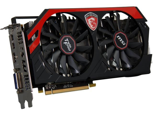MSI Radeon R9 280X DirectX 11.2 R9 280X GAMING 3G Video Card
