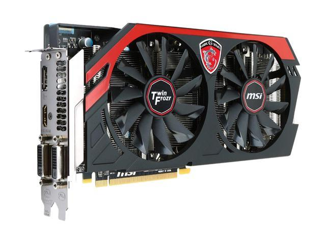MSI R9 270X GAMING 2G Radeon R9 270X 2GB 256-bit GDDR5 PCI Express 3.0 HDCP Ready CrossFireX Support Video Card