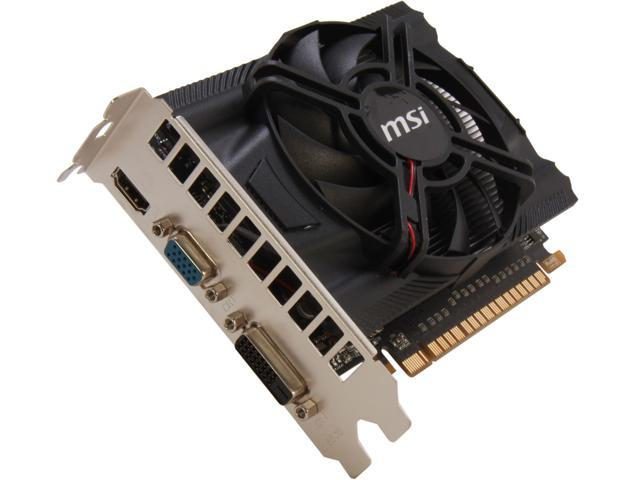 MSI GeForce GTX 650 DirectX 11 N650-MD1GD5/OC Video Card