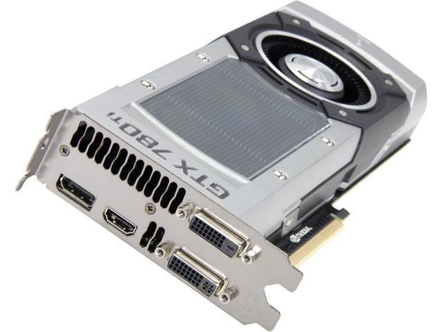 MSI GeForce GTX 780 Ti DirectX 11 GTX 780Ti 3GD5 Video Card
