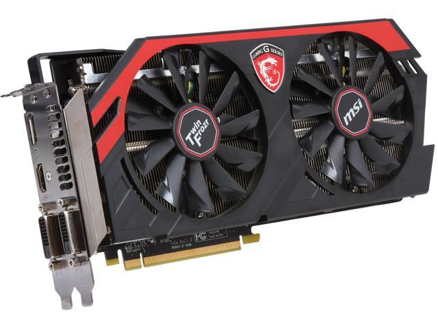 MSI Radeon R9 290X DirectX 11.2 R9 290X GAMING 4G Video Card