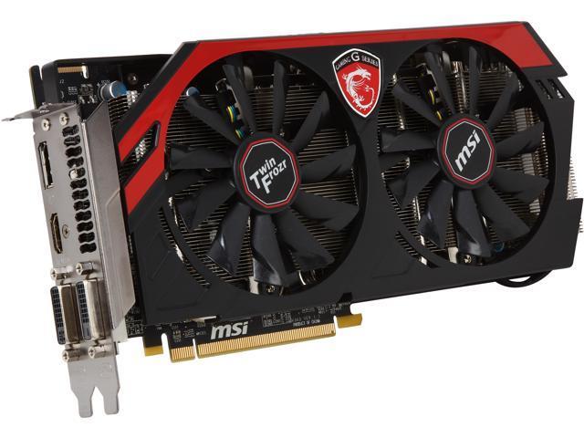 MSI Radeon R9 270X GAMING 4GB 256-bit GDDR5 PCI Express 3.0 x16 HDCP Ready CrossFireX Support Video Card