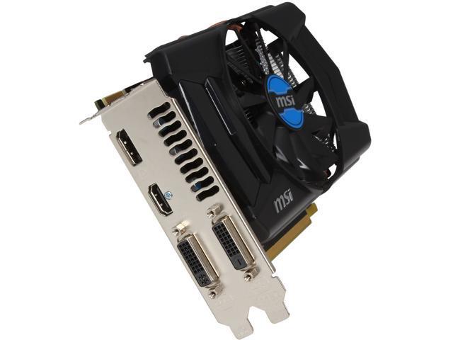MSI Radeon R7 260X DirectX 11.2 R7 260X 2GD5 OCV1 Video Card