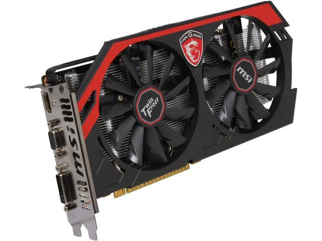 MSI GAMING N750 TF 1GD5/OC G-SYNC Support GeForce GTX 750 1GB 128-Bit GDDR5 PCI Express 3.0 x16 HDCP Ready Video Card