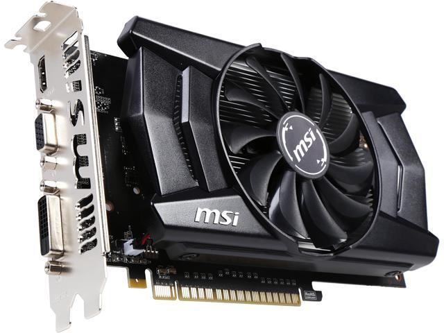MSI N750TI-2GD5/OC G-SYNC Support GeForce GTX 750 Ti 2GB 128-Bit GDDR5 PCI Express 3.0 Video Card