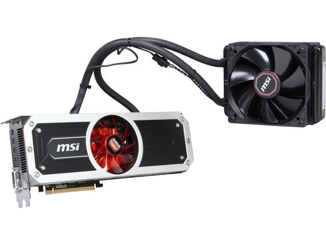 MSI Radeon R9 295x2 DirectX 11.2 R9 295X2 8GD5 8GB 1024 (512 x 2)-Bit GDDR5 PCI Express 3.0 HDCP Ready CrossFireX Support Video Card