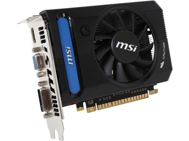MSI GeForce GTX 650 Ti DirectX 11 N650Ti-1GD5/OCV4 Video Card