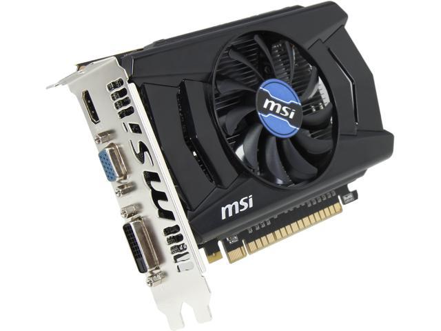 MSI GeForce GT 740 DirectX 12 (feature  level 11_0) N740-2GD5 2GB 128-Bit GDDR5 PCI Express 3.0 HDCP Ready Video Card