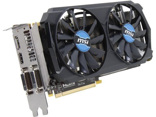 MSI GeForce GTX 760 DirectX 11.2 N760-2GD5T/OC Video Card