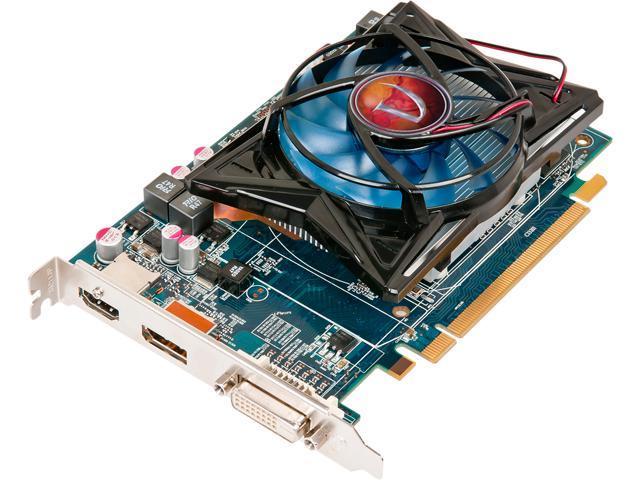 Visiontek Radeon 6670 1GB GDDR5 3M (Dual link DVI-I, DP, HDMI)