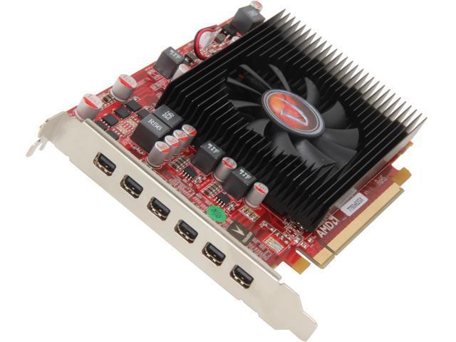 Visiontek Radeon HD 7750 2GB GDDR5 6M (6 X Mini DP
