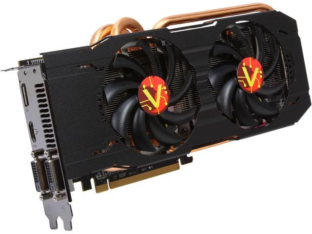 VisionTek R9 200 Radeon R9 290X DirectX 11.2 900654 4GB 512-Bit GDDR5 PCI Express 3.0 CrossFireX Support Plug-in Card Video Card