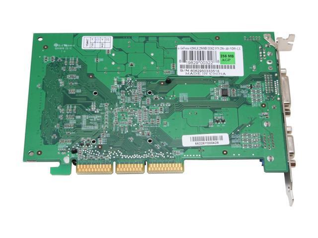 EVGA 256-A8-N295-LX GeForce 6200LE 256MB 64-bit GDDR2 AGP 4X/8X Video Card