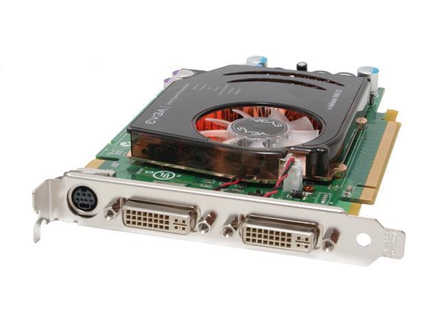 EVGA 256-P2-N554-AX GeForce 7600GT 256MB 128-bit GDDR3 PCI Express x16 SLI Support Video Card