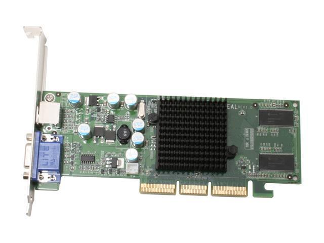 EVGA 128-A8-N292-LX GeForce 6200LE 128MB 64-bit DDR AGP 8X Video Card