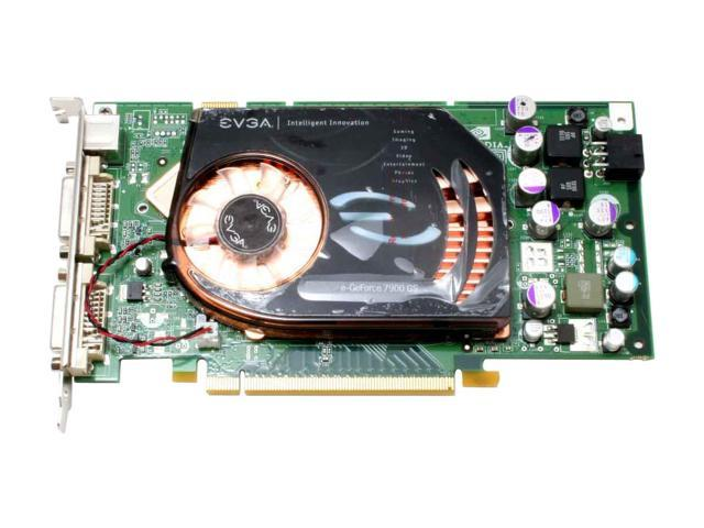 EVGA 256-P2-N624-AR GeForce 7900GS 256MB 256-bit GDDR3 PCI Express x16 SLI Support Video Card