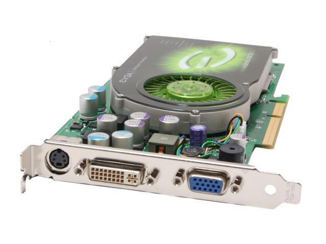 EVGA 256-A8-N506-AX GeForce 7800GS 256MB 256-bit GDDR3 AGP 4X/8X Video Card