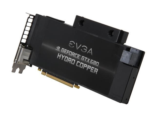 EVGA 02G-P4-2689-KR GeForce GTX 680 Hydro Copper 2GB 256-bit GDDR5 PCI Express 3.0 x16 HDCP Ready SLI Support Video Card