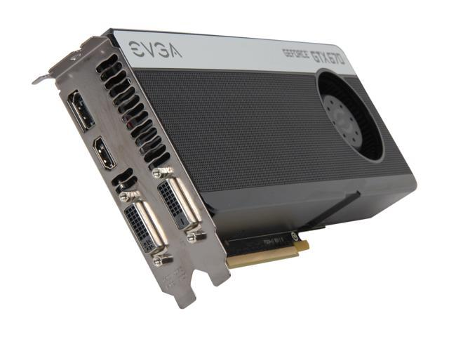 EVGA SuperClocked 02G-P4-2672-KR GeForce GTX 670 2GB 256-bit GDDR5 PCI Express 3.0 x16 HDCP Ready SLI Support Video Card