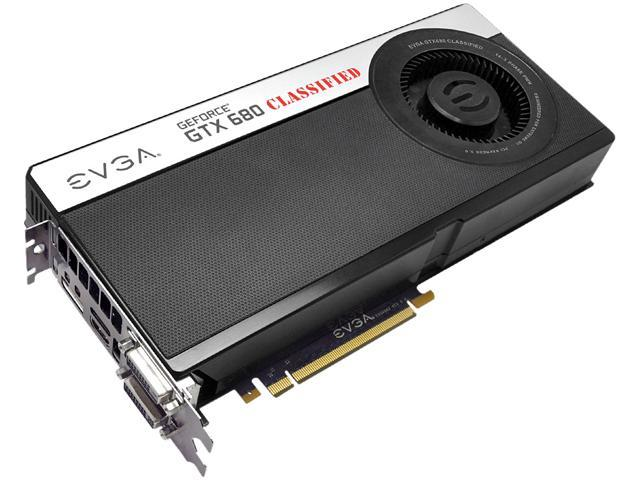 EVGA GeForce GTX 680 DirectX 11 04G-P4-3688-KR Video Card