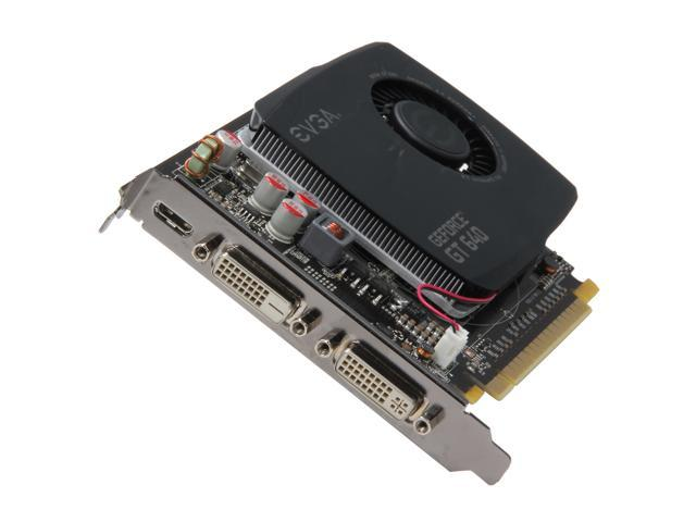 EVGA GeForce GT 640 DirectX 12 (feature level 11_0) 04G-P4-2647-KR 4GB 128-Bit DDR3 PCI Express 3.0 x16 HDCP Ready Video Card