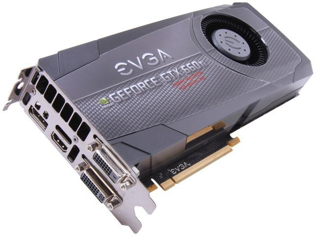 EVGA GeForce GTX 660 Ti DirectX 11 02G-P4-3665-KR Video Card