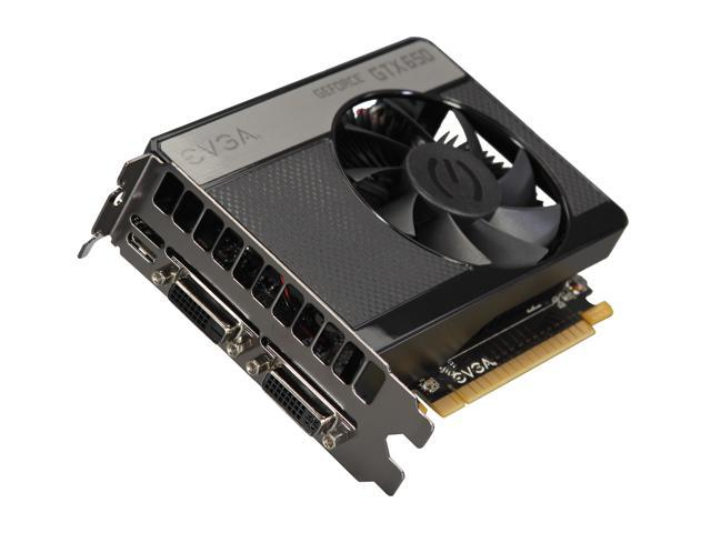 EVGA GeForce GTX 650 DirectX 12 (feature level 11_0) 02G-P4-2651-KR Video Card