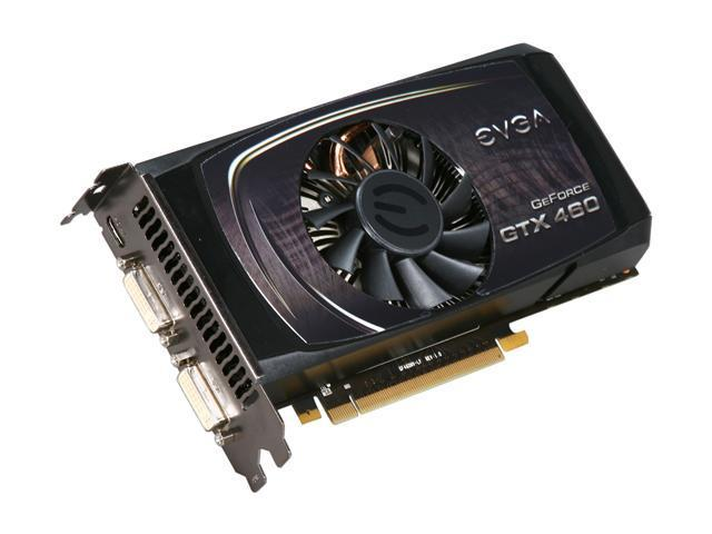 EVGA FTW GeForce GTX 460 (Fermi) DirectX 11 01G-P3-1377-RX Video Card