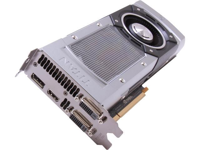 EVGA 06G-P4-2793-KR GeForce GTX TITAN SuperClocked Signature 6GB 384-bit GDDR5 PCI Express 3.0 x16 HDCP, SLI Ready Video Card