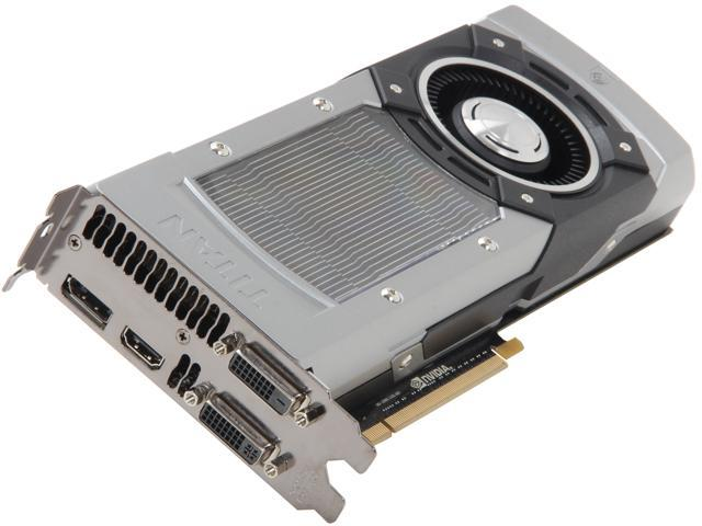 EVGA 06G-P4-2791-KR GeForce GTX TITAN SuperClocked 6GB 384-bit GDDR5 PCI Express 3.0 x16 HDCP, SLI Ready Video Card
