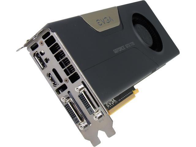 EVGA SuperClocked 02G-P4-2771-KR G-SYNC Support GeForce GTX 770 2GB 256-bit GDDR5 PCI Express 3.0 x16 SLI Support Video Card