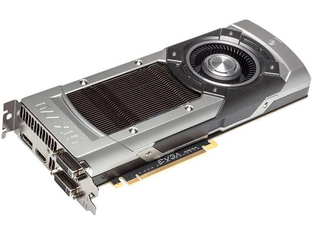 EVGA 02G-P4-3771-KR G-SYNC Support GeForce GTX 770 2GB 256-Bit GDDR5 PCI Express 3.0 SLI Support Video Card
