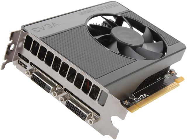 EVGA 02G-P4-2651-RX GeForce GTX 650 2GB 128-Bit GDDR5 PCI Express 3.0 x16 HDCP Ready Video Card Manufactured Recertified