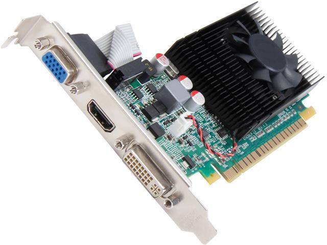 EVGA GeForce GT 620 DirectX 11 01G-P3-2625-RX 1GB 64-Bit DDR3 PCI Express 2.0 x16 HDCP Ready Video Card