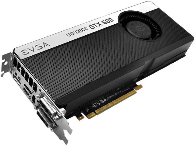 EVGA Signature GeForce GTX 680 DirectX 11 02G-P4-2681-RX 2GB 256-Bit GDDR5 PCI Express 3.0 SLI Support Video Card