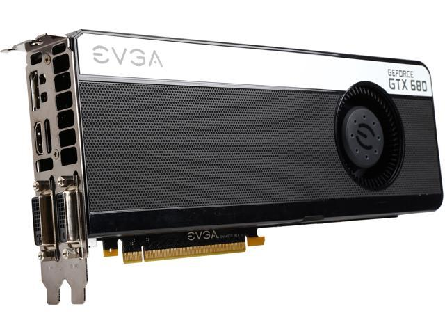EVGA GeForce GTX 680 DirectX 11 02G-P4-3684-RX Video Card