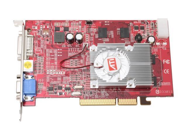 PowerColor X1650 256MBAGP Radeon X1650 256MB 128-bit GDDR2 AGP 8X Video Card