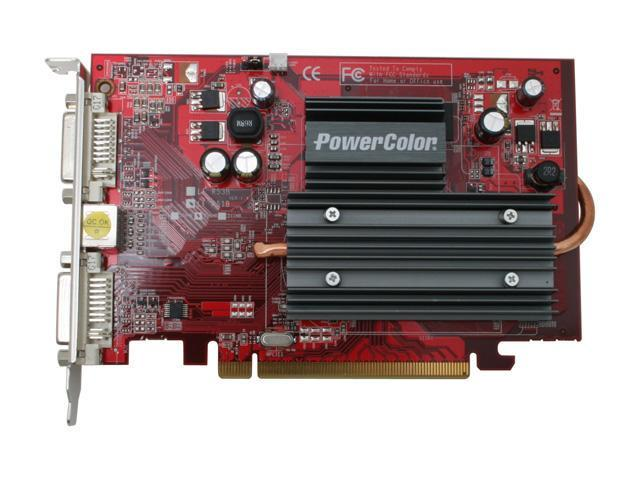 POWERCOLOR X1550 256MB SCS Radeon X1550 256MB 128-bit GDDR2 PCI Express x16 Video Card