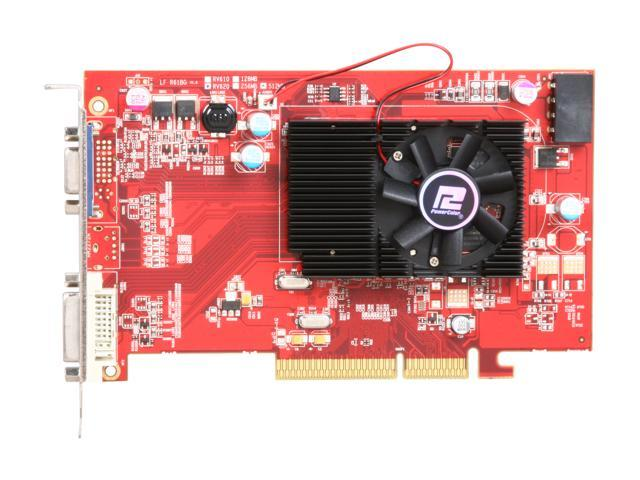 PowerColor AG3450 512MD2-V2 Radeon HD 3450 512MB 64-bit DDR2 AGP 8X HDCP Ready Video Card