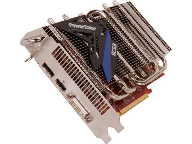 PowerColor Radeon HD 7850 DirectX 11.1 AX7850 1GBD5-S3DH Video Card