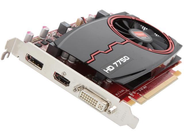 PowerColor Radeon HD 7750 DirectX 11 AX7750 1GBD5-DH 1GB 128-Bit GDDR5 PCI Express 3.0 x16 HDCP Ready Video Card