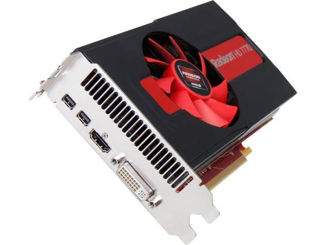 PowerColor Radeon HD 7770 DirectX 11 AX7770 1GBD5-2DH 1GB 128-Bit GDDR5 PCI Express 3.0 x16 HDCP Ready CrossFireX Support Video Card