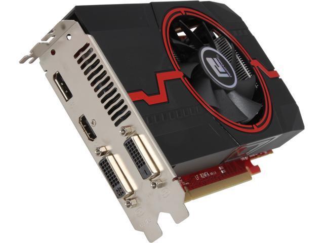 PowerColor Radeon HD 7790 DirectX 11.1 AX7790 1GBD5-DHV2/OC Video Card