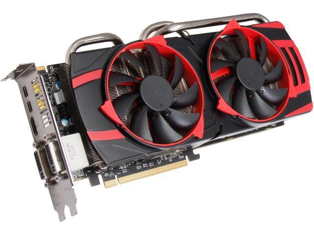 PowerColor PCS Radeon HD 7870 GHz Edition AX7870 2GBD5-2DHPV 2GB 256-Bit GDDR5 PCI Express 3.0 Vortex II Video Card
