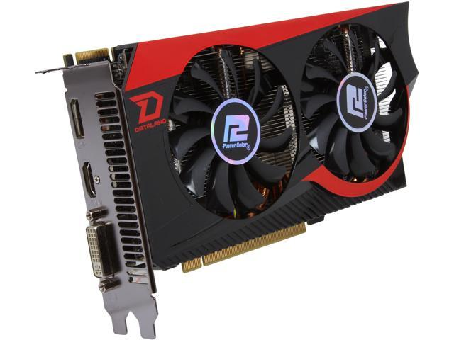 PowerColor Radeon HD 7850 DirectX 11 AX7850 2GBD5-DHEV2 Video Card