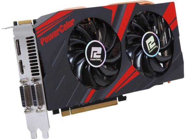 PowerColor TurboDuo Radeon R9 270X DirectX 11.2 AXR9 270X 2GBD5-TDHE/OC Video Card