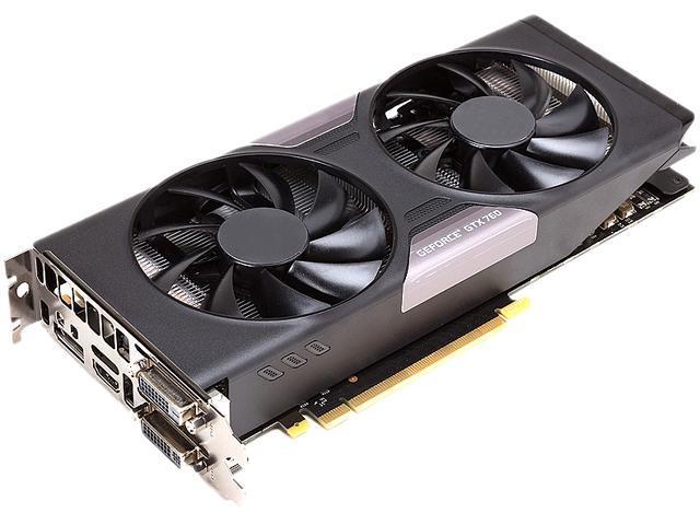 NVIDIA GTX760 2GB/500 Watt G-SYNC Support GeForce GTX 760 2GB PCI Express 3.0 x16 Video Card with 500W Power Supply Included