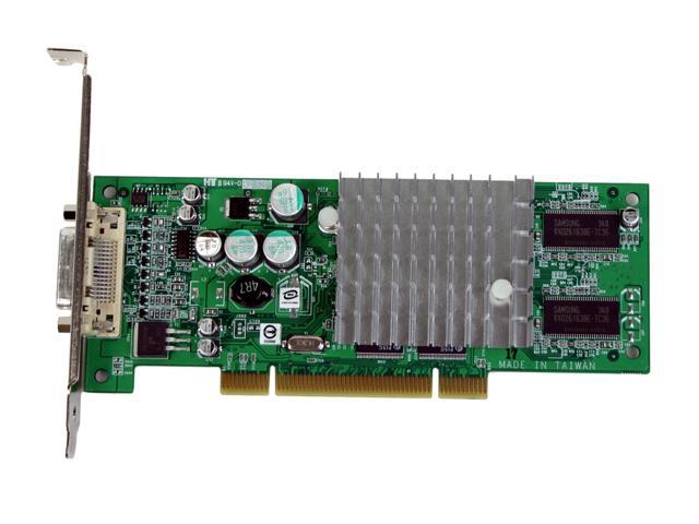 PNY VCQ4280NVS-PCI-PB Quadro NVS 280 64MB 32-bit DDR PCI Workstation Video Card