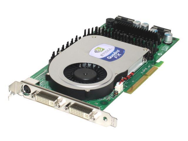 PNY VCQFX4000-PB Quadro FX 4000 256MB 256-bit GDDR3 AGP 4X/8X Workstation Video Card